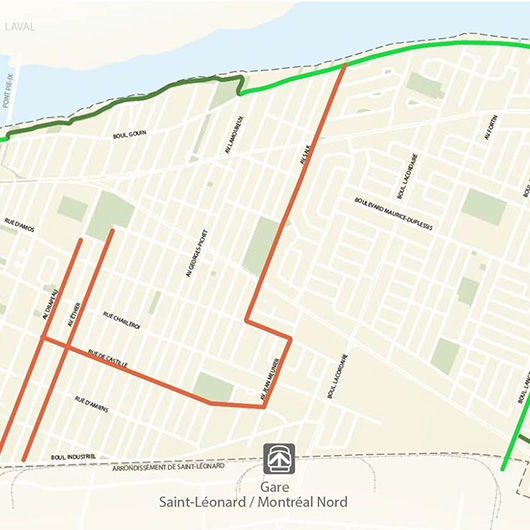 Association pour la sécurité à pied et à vélo de Montréal-Nord