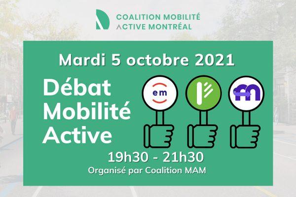 Débat Mobilité Active 2021