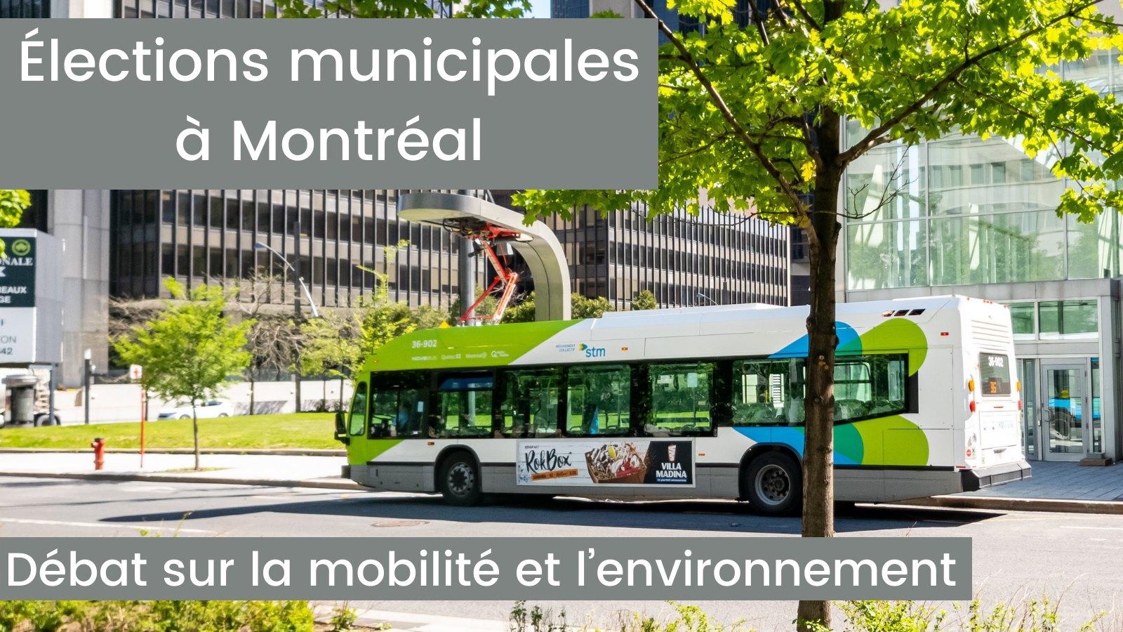 Débat sur la mobilité et l'environnement